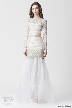 Makany Marta #Wedding Dresses — Midsummer Night's Dream #Bridal Collection | Wedding Inspirasi #weddings #weddingdress #weddinggown