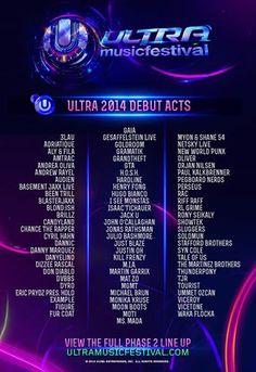 Ultra Music Festival 2014, Miami