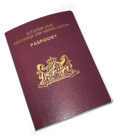 Paspoort, Europese Unie, Koninkrijk Der Nederlanden.