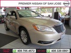 2014 Chrysler 200 LX $12,212  miles 408-705-4572 Transmission: Automatic  #Chrysler #200 #used #cars #PremierNissanofSanJose #SanJose #CA #tapcars