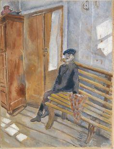 Marc Chagall (French, Vitebsk 1887–1985 Saint-Paul-de-Vence) The Village Idiot