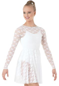 Long-Sleeve Lace Overdress | Balera™