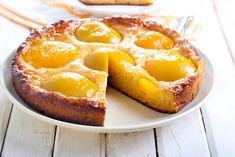 Receta de Tarta de Melocotones, dulce y riquísima, guarda esta receta porque te va a encantar!