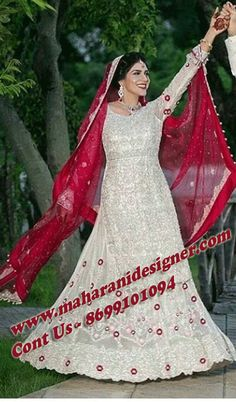 #IndianBridalReceptiondress #DesignerBridalDresses #PartyWearlehengaOnline #IndianweddingDressOnline Maharani Designer Boutique  To buy it click on this link http://maharanidesigner.com/Anarkali-Dresses-Online/lehenga-online/  Hand work on lehenga , shirt and dupatta 4 sides Rs-40000 Available in All Colors Fine Quality fabric  For any more information contact on WhatsApp or call 8699101094 Website www.maharanidesigner.com