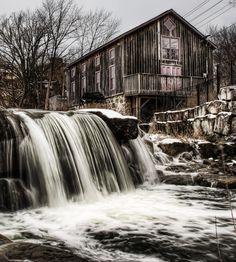 grist mill | Abraham Erb's Grist Mill « Villagephotography