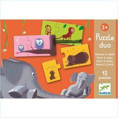 "Djeco Puzzle Duo ""Mama & Kind"" - www.lolakids.de"