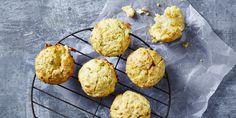 Cheesy Garlic Bread Muffins via @iquitsugar