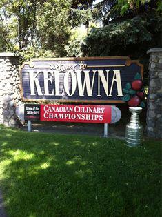 Welcome to Kelowna, British Columbia