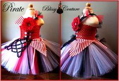 Pirate Tutu Dress Costume by www.BlissyCouture.net