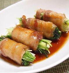 野菜をくるりと巻いてヘルシーに!肉巻きレシピ5選 | レシピブログ