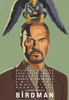 Posters and movie stills of critically-acclaimed and potential Oscar contender comedy-drama Birdman, starring Michael Keaton, Zach Galifianakis, Edward Norton and Naomi Watts Michael Keaton, Edward Norton, Love Movie, Movie Tv, Michael Haneke, Birdman, Zach Galifianakis, Bon Film, Movie Trailers
