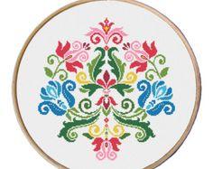 flowers cross stitch pattern Cross Stitch door MyFunnyStitches1