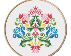 flowers cross stitch pattern Cross Stitch door MyFunnyStitches1