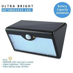 Remote Controlled Solar Light Waterproof Sensor Wall Lamp With Five Light Modes