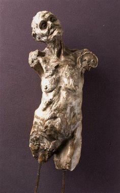 Camille Claudel, Clotho Torso, date unknown, Plaster, Musée d'Orsay, Paris