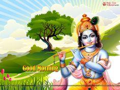 Good Morning Krishna Wallpapers & Images Download