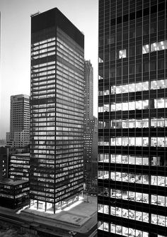The Seagram Building in Manhattan: a philosophical project