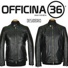 DESIDERIO boutique Canosa di Puglia BT Officina 36 giacche in vera pelle motociclista