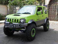 flog color Suzuki Jimny Off Road, Jimny Suzuki, Jimny 4x4, Best 4x4, Veteran Car, Jeep Wrangler Tj, Mini Trucks, Camper, Small Cars