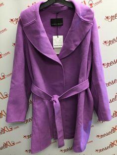 d12bf59f38b9e6 Marina Rinaldi Size 22W Purple Wool Coat NWT!!