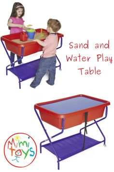The TP Rockface Sand and Water Table and stand can be used outdoors or indoors. It folds away for easy storage, allowing for playroom use and/or moveable garden play Sand Pits For Kids, Sand And Water Table, Play Table, Social Activities, Water Play, Gross Motor Skills, Garden Toys, Outdoor Play, Playroom