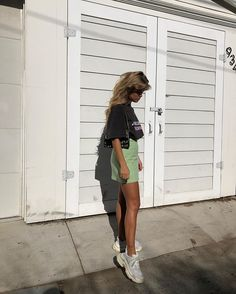 Beauty wearing her Daria Skirt in Mint. Spring Outfits, Trendy Outfits, Cute Outfits, Fashion Outfits, Moda Fashion, Womens Fashion, Fashion Fashion, Mode Ootd, Hot Pants