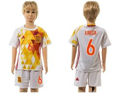 http://www.xjersey.com/spain-6-ainiesta-away-euro-2016-youth-jersey.html SPAIN 6 A.INIESTA AWAY EURO 2016 YOUTH JERSEY Only 33.11€ , Free Shipping!