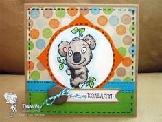 Your Next Stamp - Kyle the Koala Bear