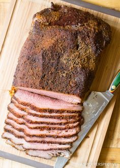 Dry Rub Texas Style Oven Brisket Recipe on ASpicyPerspective.com - No Smoker Required!