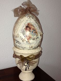 Easter egg shabby chic                                   BY SAB creations
