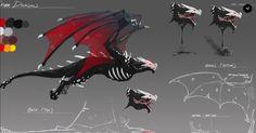 RWBY- Grimm concept art