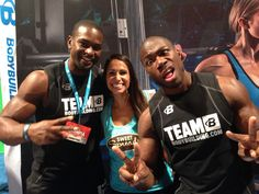 With the goofy Kizzito Ejam & Rodney Razor at bodybuilding.com booth #coconutter #vegas #mrolympia #mrolympia2014 #olympia #50tholympia #athlete #bodybuildingcom #bodybuilding #coconutbutter #sweetspreads #sweetspreadscoconutter