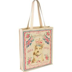 this Diamond Jubilee Corgi reusable bag from Cath Kidston is AMAZING!