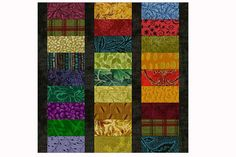 Roman Stripes Quilt Block Pattern