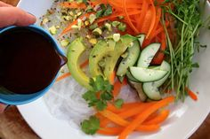 Spring Roll in a Bowl by joy the baker, via Flickr