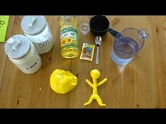 ▶ Jednoduchý RECEPT: MODELÍNA pro děti do 5 Kč! (DIY) - YouTube