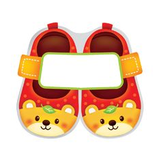 스티커몰 이름표10개신발2-곰 N-231