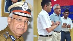 Director General of Uttar Pradesh Police Javeed Ahmad today came forward to become the target of a taser gun strike.