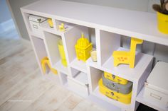 Evan Lucas baby nursery :) Colors: Gray, yellow & white Paint// Gray: Olympic One Interior Semi-Gloss Secret Passage Latex-Base Paint and Primer in One White: Plain flat enamel white Crib & Changing table from babyLetto Hudson collection Light - Ikea...