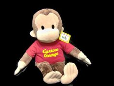 Curious George Plush- somebody buy me this :( Cool Stuff For Sale, Curious George, Selling On Ebay, Vintage Toys, Monkey, Plush, Teddy Bear, Marketing, Nice