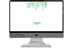 Wallpaper August | we love handmade