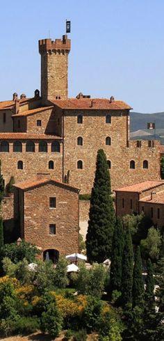 Castello Banfi, Montalcino, Toscane, www.tendi.nl/italie