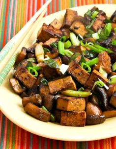 We loved this Stir-Fried Marinated Tofu and Mushrooms and it's low-carb, gluten-free, dairy-free, vegan, and can be South Beach Diet Phase One; use the Recipes-by-Diet-Type Index to find more recipes like this one. Click here to PIN this tasty stir-fried tofu! For anyone who likes tofu this delicious Stir-Fried and Marinated Tofu with Mushrooms is low in carbs …