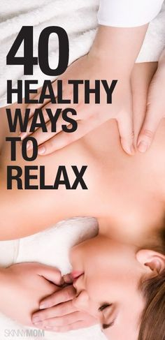 De-stress and RELAX!