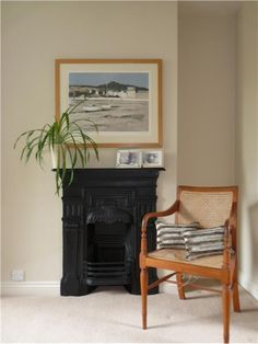 An inspirational image from Farrow and Ball - Walls - Joa's White