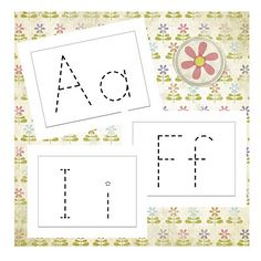 alphabet wiki stick printables