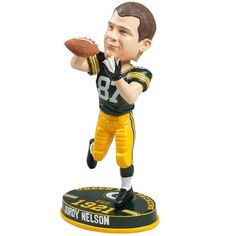 Green Bay Packers #87 Jordy Nelson Player Bobblehead at the Packers Pro Shop http://www.packersproshop.com/sku/0505163110/
