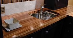 Wood Countertops | Wood Countertops from Brooks Custom