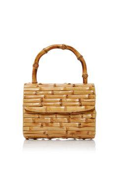 Bebel Bamboo Bag by Glorinha Paranagua