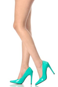 Jade Faux Patent Leather Pointed Toe Classic Pumps @ Cicihot Heel Shoes online store sales:Stiletto Heel Shoes,High Heel Pumps,Womens High Heel Shoes,Prom Shoes,Summer Shoes,Spring Shoes,Spool Heel,Womens Dress Shoes